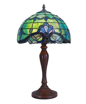 Allistar Table Lamp- Green