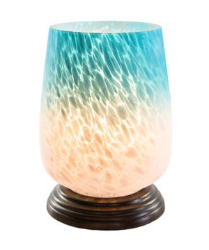 Bourdeaux Handblown Glass Lamp