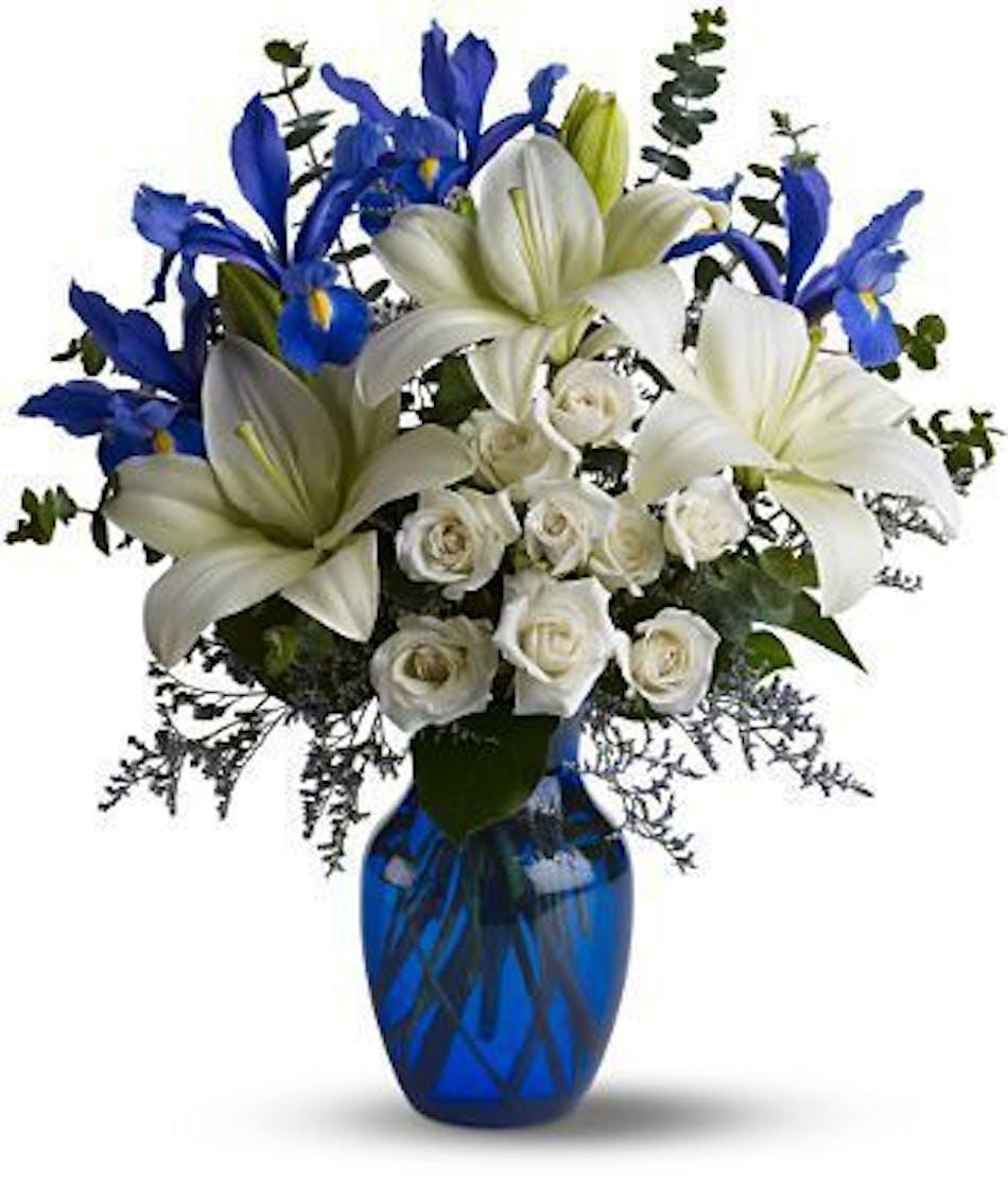 Blue Horizons Bouquet Durocher Florist New Baby Flowers