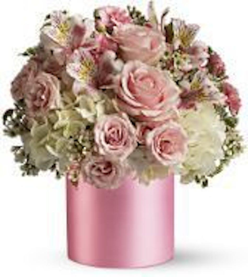 Sweet Pinks Bouquet Durocher Florist New Baby Flowers