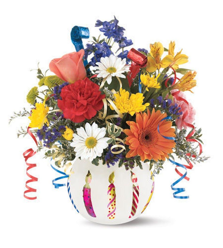 Celebration Birthday Bouquet Durocher Florist Birthday Ideas