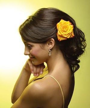 Prom- Rose for Hair