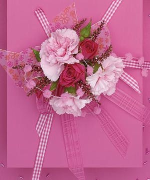 Wrist Corsage- Shades of Pink
