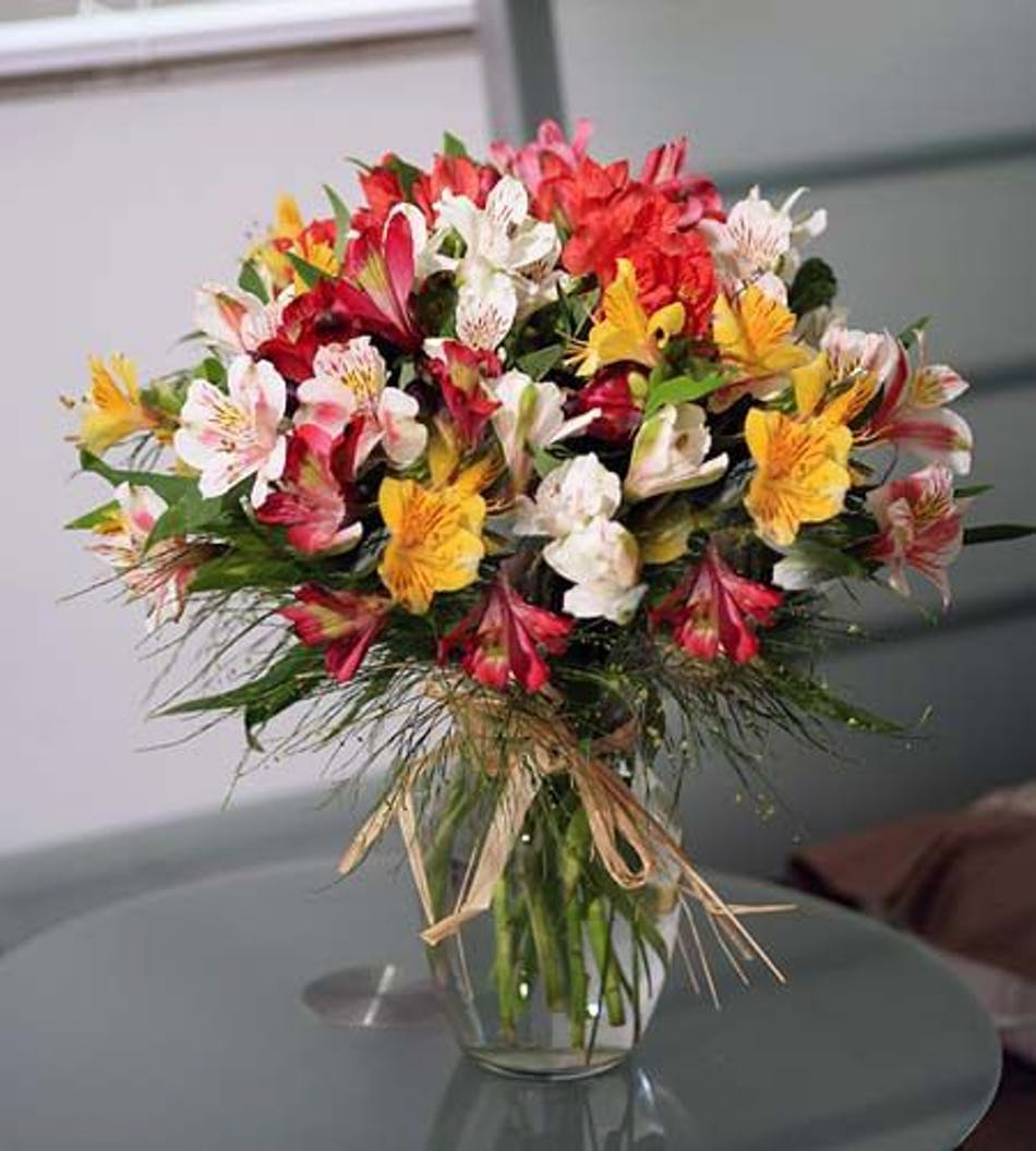 Blooming Lilies Hand Picked And Designed Durocher Florist Wedding