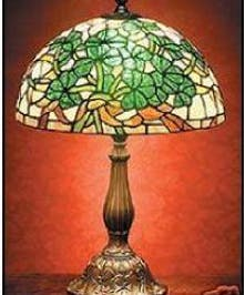 Irish- Shamrock Tiffany Lamp