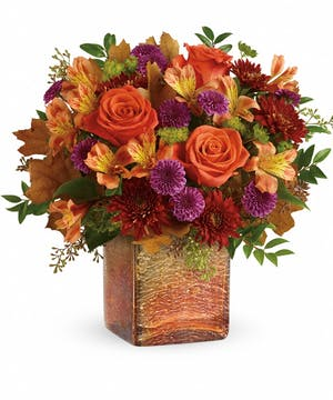 Golden Amber Bouquet - Durocher Florist
