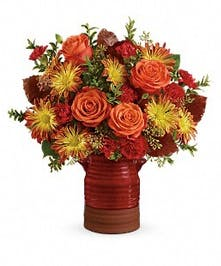 Heirloom Crock Bouquet - Durocher Florist