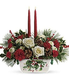 Halls of Holly - Durocher Florist - West Springfield, MA Flower Delivery