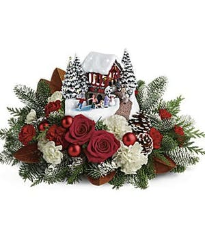 Snowfall Dreams Bouquet - Durocher Florist - West Springfield, NJ Flower Delivery