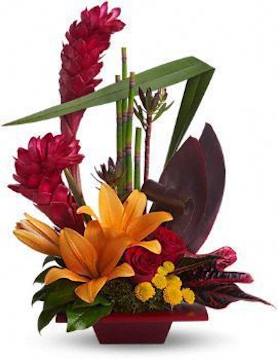 Tropical Bliss Bouquet Durocher Florist Flower Arrangements