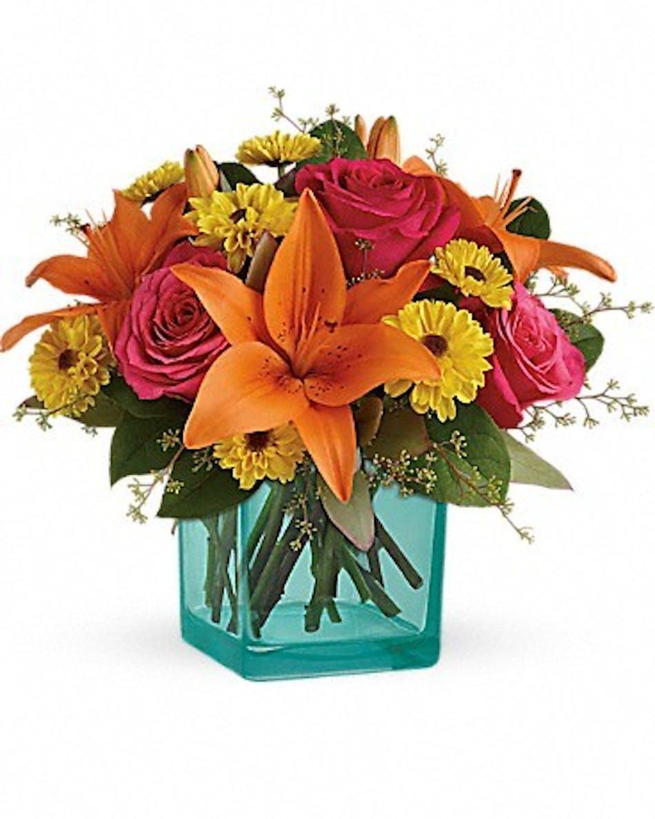 Fiesta Bouquet - Durocher Florist-Wedding Flowers, West Springfield ...