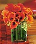 Bronze Calla Lily Design