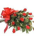 Dozen Red Roses Hand Tied