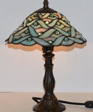 Calming Sea Tiffany Table Lamp