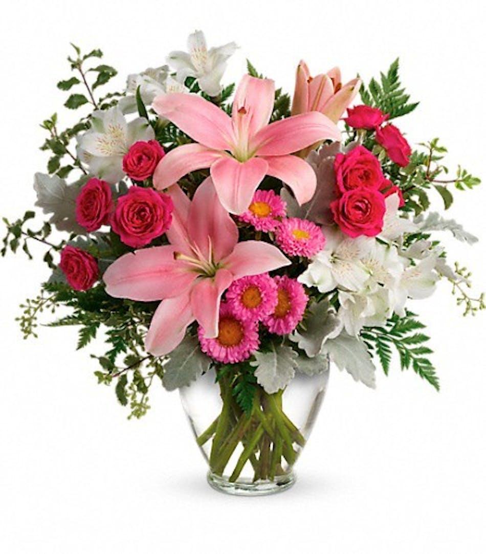 Blush Rush Bouquet - Durocher Florist-Wedding Flowers, West ...