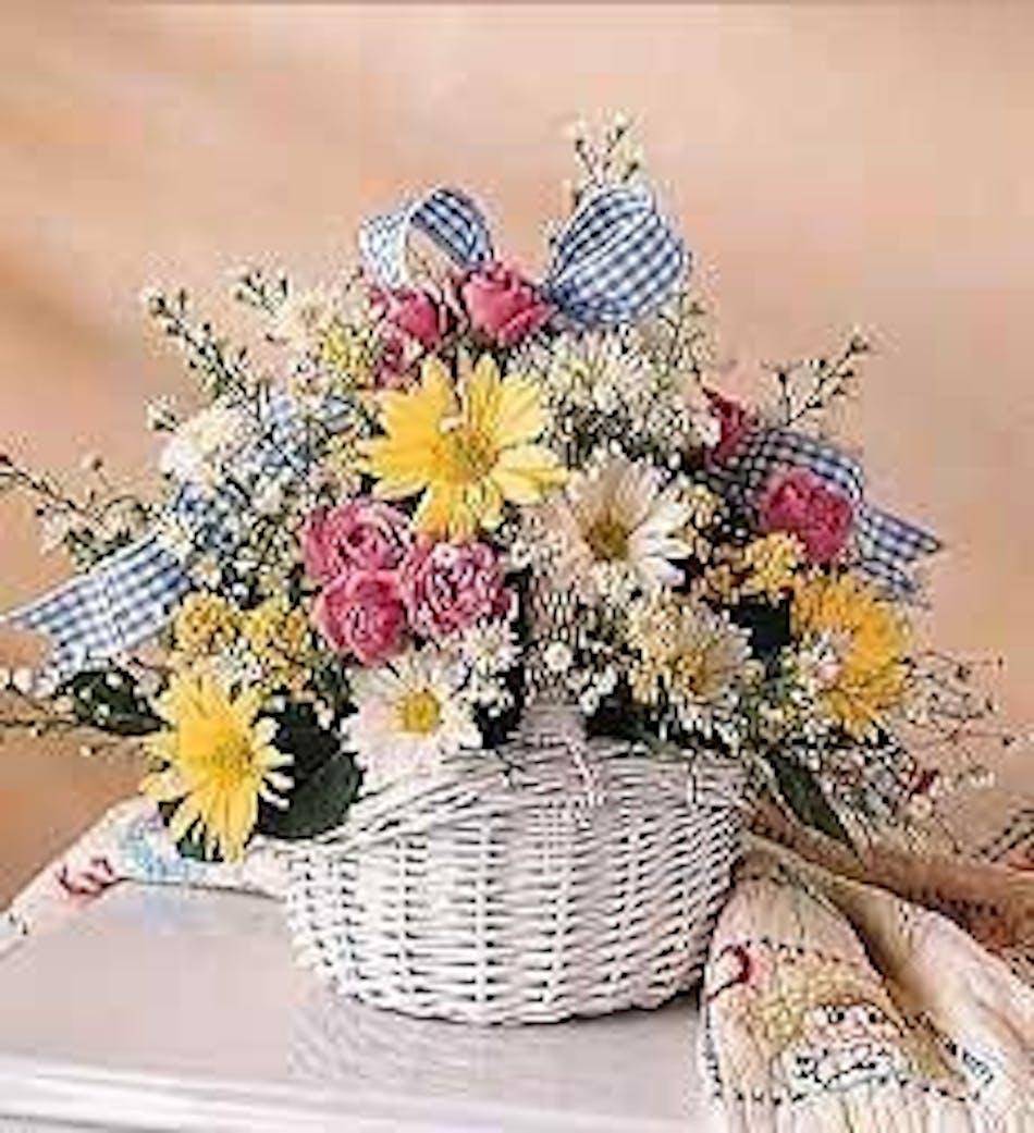 New Baby Basket Durocher Florist New Baby Flowers