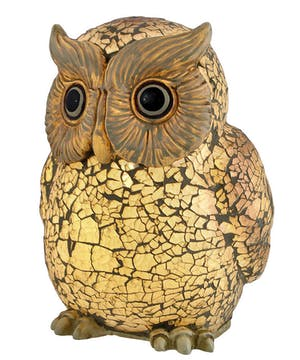 White Owl Memory Lamp