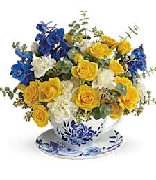 Pretty Tea Time Bouquet